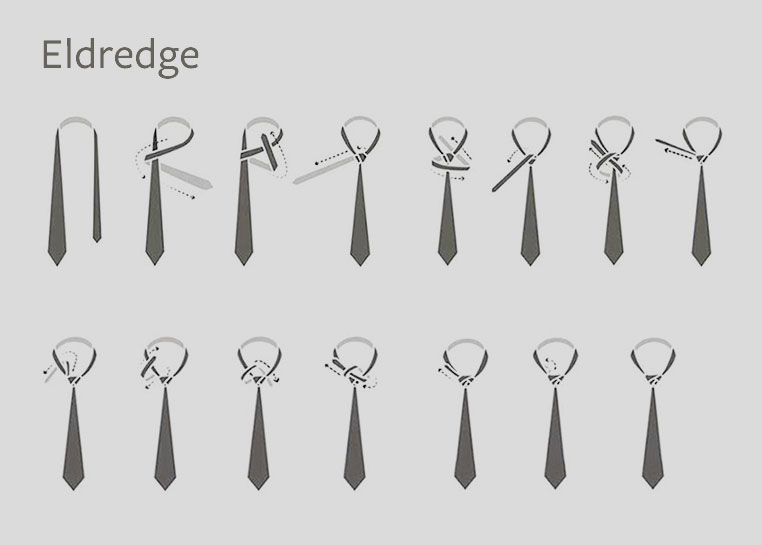 Do you know how to tie a tie british tailoring eldredge knot how to tie ccuart Image collections