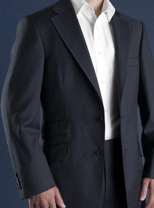British Blue cloth suit