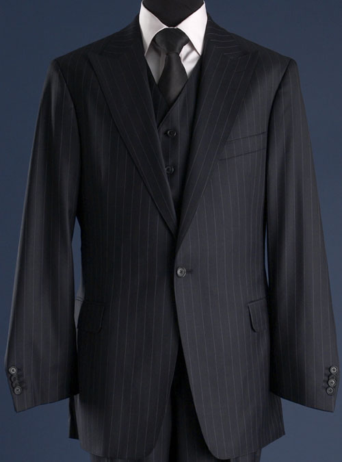 deep blue cloth suit