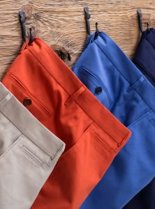 tailored casual trousers
